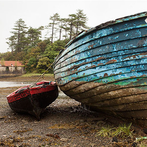 Boats at Westport Co.Mayo