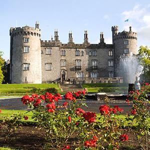 Rose Garden Kilkenny Castle