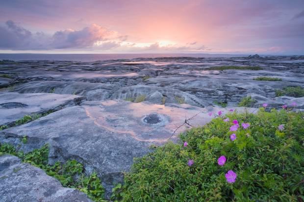 The Burren in County clare