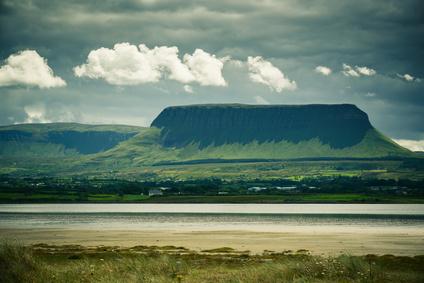 Ben Bulben Mountain in County Sligo