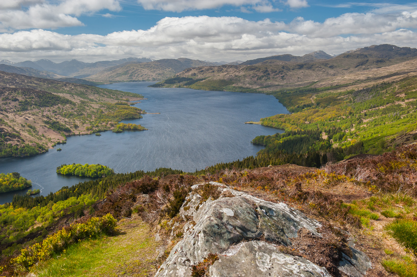 Loch Katrine- one of the settings in Walter Scott's poem, The Lady of the Lake