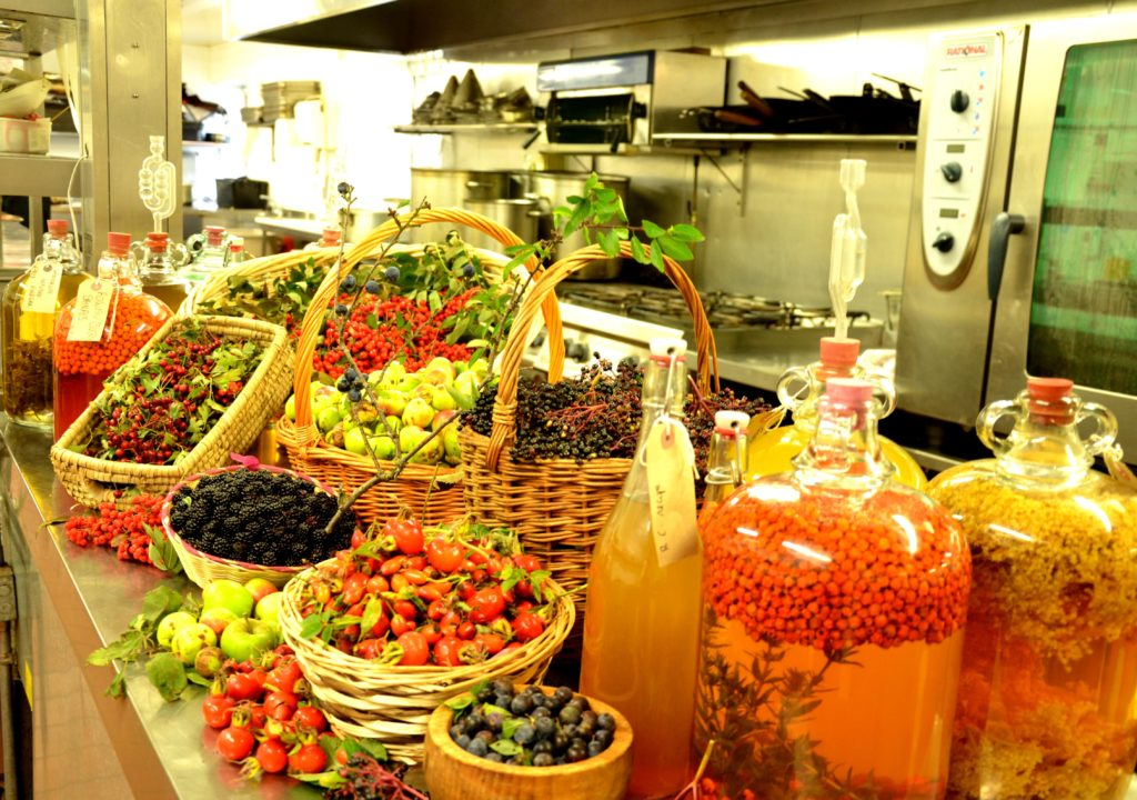 The Wild Harvest at The Strawberry Tree Restaurant in Macreddin Village