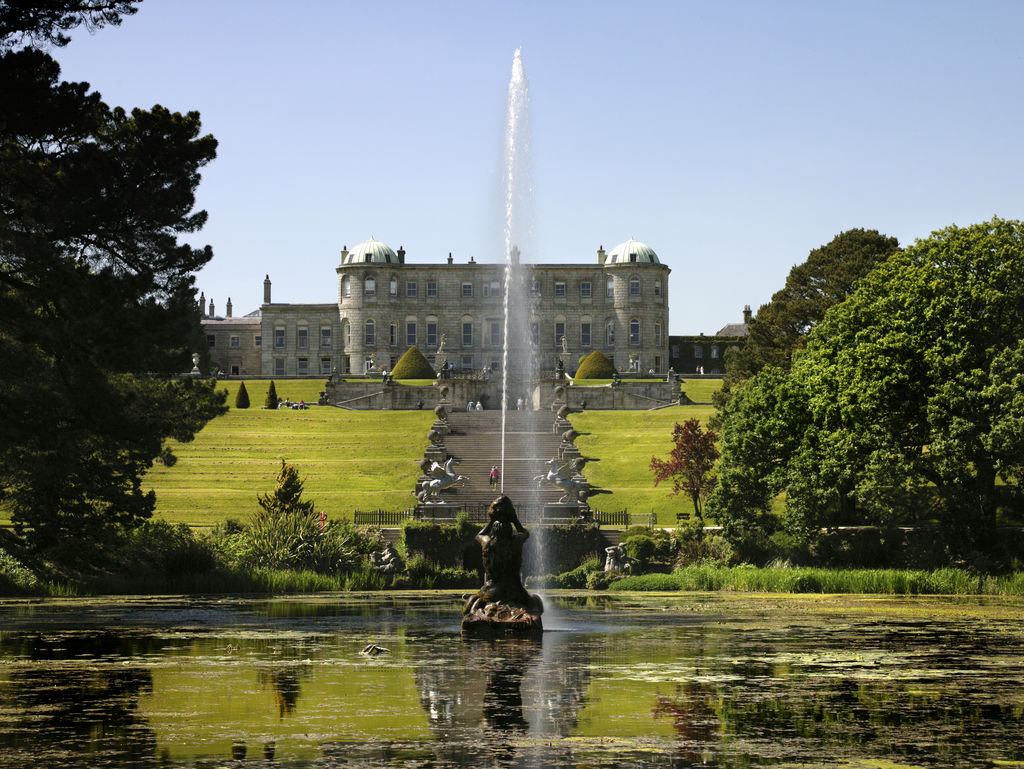 Powerscourt House & Gardens in County Wicklow